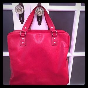 Beautiful vintage Kate Spade ♠️ Red tote